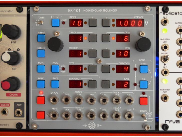 Orthogonal Devices ER-101 Eurorack Modular Sequencer Exeter