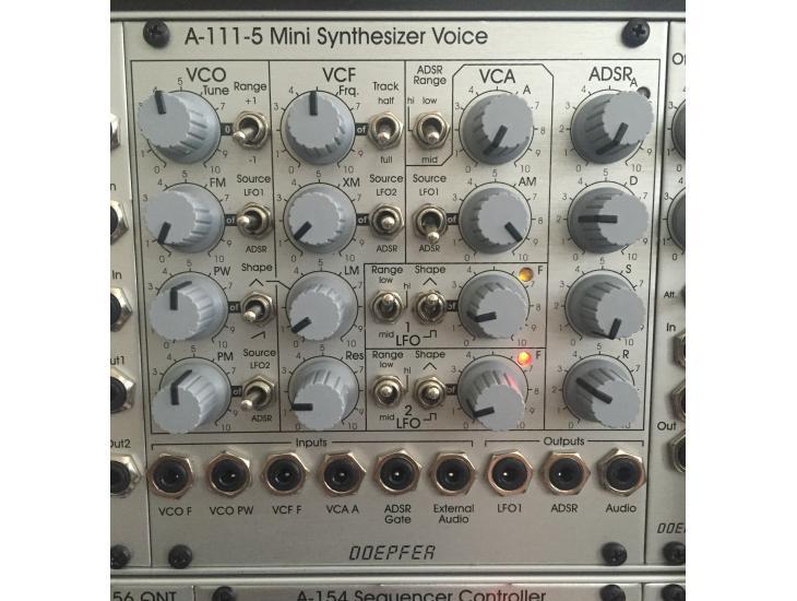doepfer a 111 5 mini synthesizer voice dark energy in eurorack format richmond modularparts. Black Bedroom Furniture Sets. Home Design Ideas